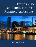 Cover for 'Ethics and Responsibilities for Florida Adjusters'