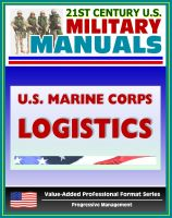 Cover for '21st Century U.S. Military Manuals: U.S. Marine Corps (USMC) Logistics - Marine Corps Doctrinal Publication (MCDP) 4 (Value-Added Professional Format Series)'