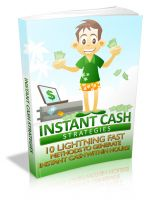 Cover for 'Instant Cash Strategies'