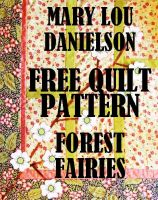 Cover for 'Forest Fairies - Free Quilt Pattern'