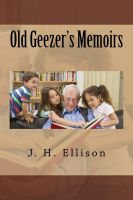 Cover for 'Old Geezer's Memoirs'