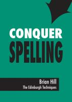 Cover for 'Conquer Spelling'