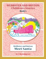 Cover for 'Webbster and Button Meet Santa'