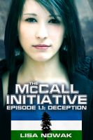 Cover for 'The McCall Initiative Episode 1.1: Deception'