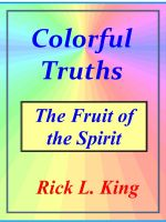 Cover for 'Colorful Truths - The Fruit of the Spirit'