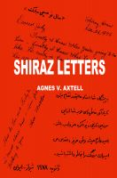 Cover for 'Shiraz Letters'
