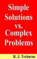 Cover for 'Simple Solutions vs. Complex Problems'
