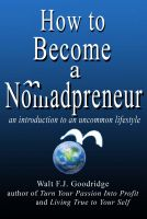 Cover for 'How to Become a Nomadpreneur: An introduction to an uncommon lifestyle'