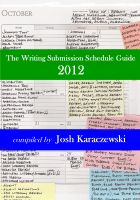Cover for 'The Writing Submission Schedule Guide 2012'