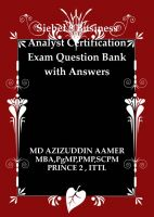 Cover for 'Siebel 8 Business Analyst Certification Question Bank with Answers'