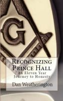 Cover for 'Recognizing Prince Hall'