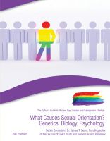 Cover for 'What Causes Sexual Orientation? Genetics, Biology, Psychology'