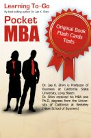 Cover for 'The pocket MBA: concepts and strategies'