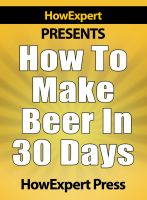 How to Make Beer in 30 Days cover