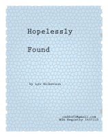 Cover for 'Hopelessly Found'