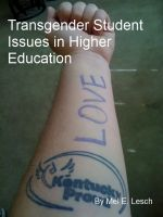 Cover for 'Transgender Student Issues in Higher Education'