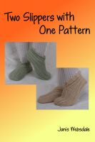 Cover for 'Two Slippers with One Pattern'