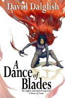 Cover for 'A Dance of Blades, (Shadowdance Trilogy, Book 2)'