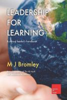 Cover for 'Leadership for Learning'