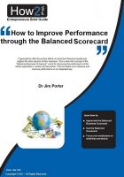 Cover for 'How to Improve Performance through the Balanced Scorecard'