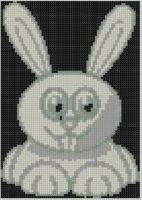Cover for 'Happy Bunny Cross Stitch Pattern'