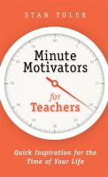 Cover for 'Minute Motivators for Teachers'