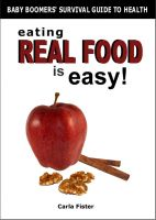 Cover for 'Eating Real Food Is Easy'