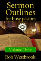 Cover for 'Sermon Outlines for Busy Pastors: Volume 3'