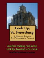 Cover for 'A Walking Tour of St. Petersburg, Florida'