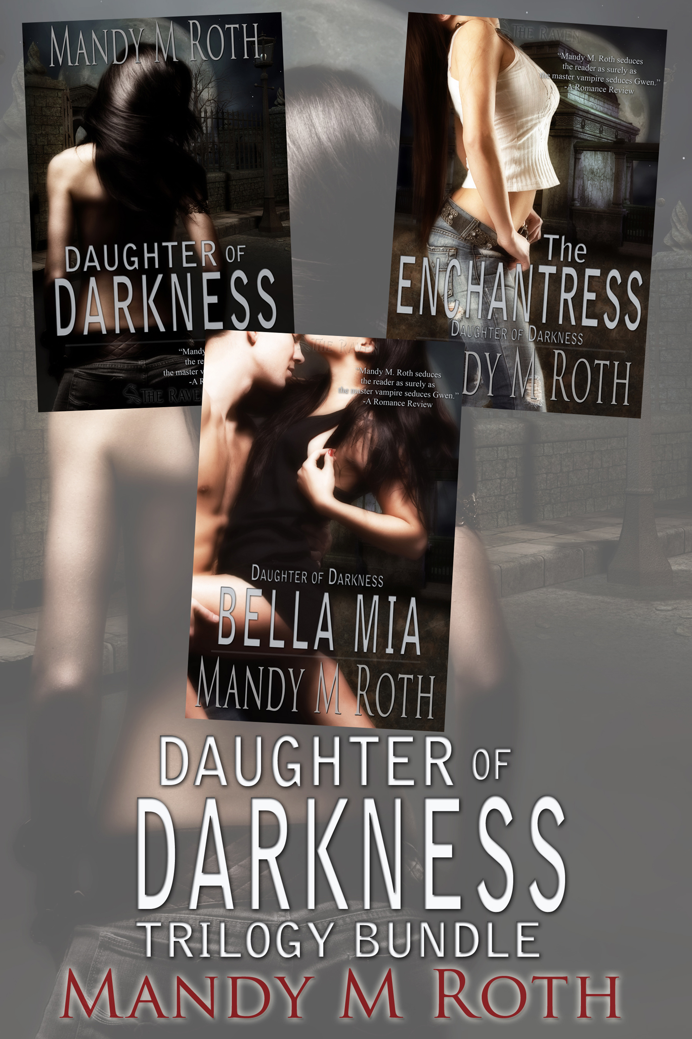 Mandy M. Roth - Daughter of Darkness Trilogy (3 Book Bundle)