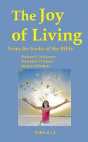 Cover for 'The Joy of Living - From the books of the Bible'