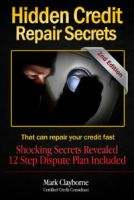 Cover for 'Hidden Credit Repair Secrets'