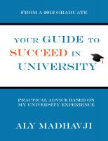 Cover for 'Your Guide to Succeed in University'