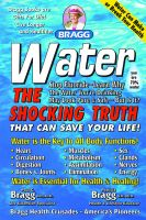 Cover for 'WATER:  The Shocking Truth that Can Save Your Life'