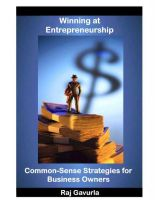 Cover for 'Winning at Entrepreneurship'