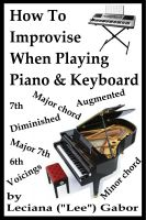 Cover for 'How To Improvise When Playing Piano & Keyboard'