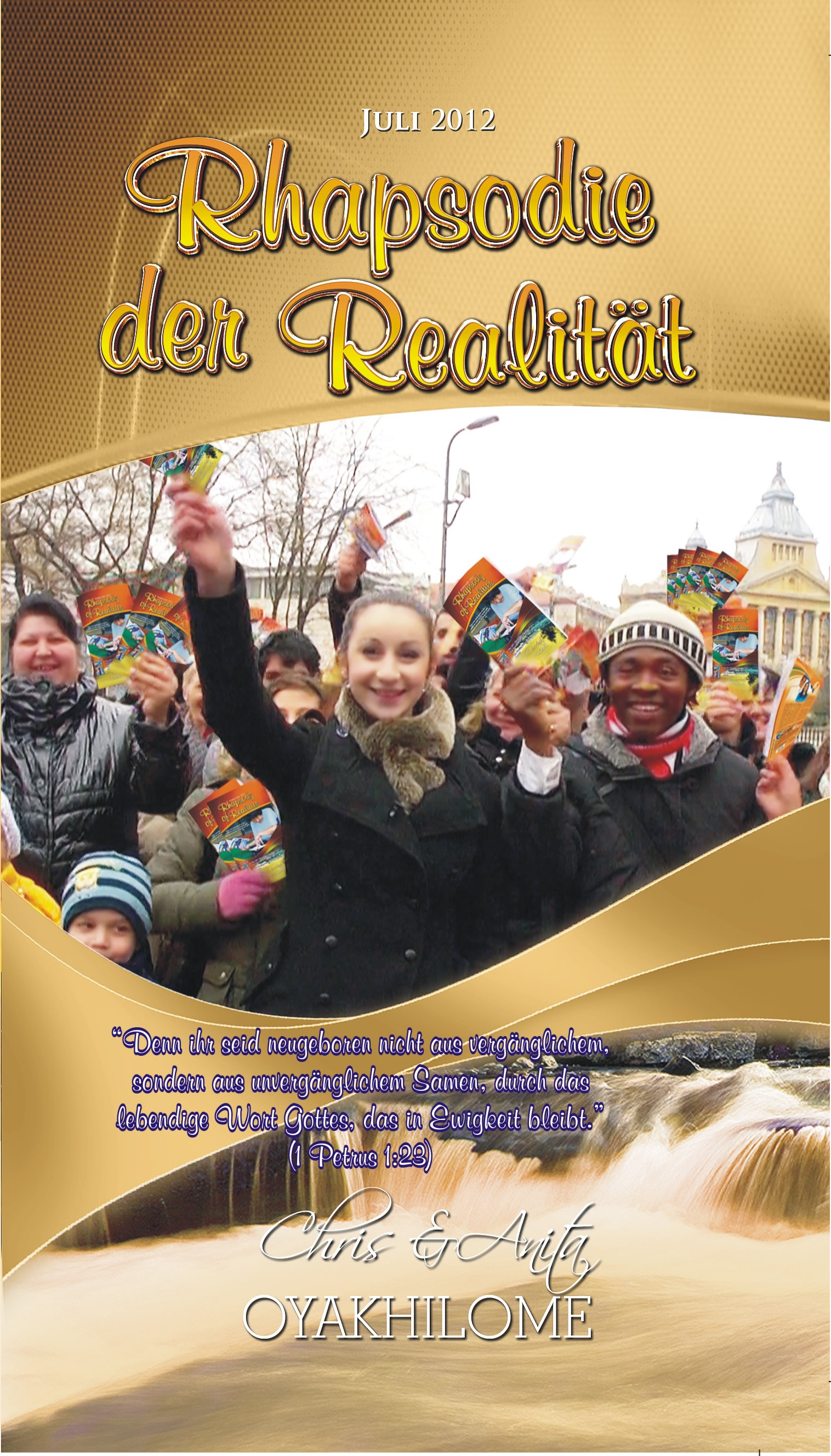 Pastor Chris and Anita Oyakhilome - Rhapsody of Realities July 2012 German Edition