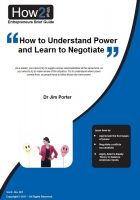 Cover for 'How to Understand Power and Learn to Negotiate'