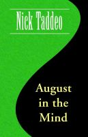 Cover for 'August in the Mind'