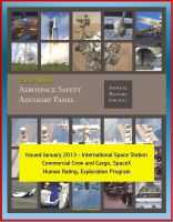 Cover for '2012 NASA Aerospace Safety Advisory Panel (ASAP) Annual Report, Issued January 2013 - International Space Station, Commercial Crew and Cargo, SpaceX, Human Rating, Exploration Program'