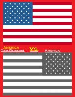Cover for 'America vs. America'