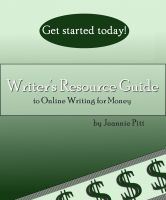 Cover for 'Writer's Resource Guide to Online Writing For Money'