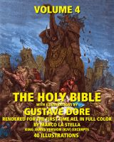 Cover for 'The Holy Bible Illustrated by Gustave Dore' in Full Color - Volume 4 of 6'