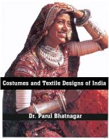Cover for 'Costumes and Textile Designs of India'