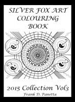 Silver Fox Art Colouring Book Volume III