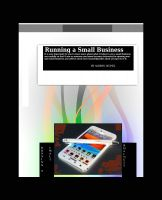 Cover for 'Runing a Small Business'