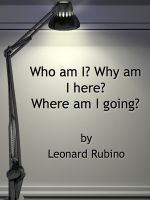 Cover for 'Who am I? Why am I here? Where am I going?'