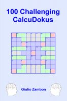 Cover for '100 Challenging CalcuDokus'
