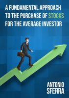Cover for 'A Fundamental Approach to the Purchase of Stocks for the Average Investor'