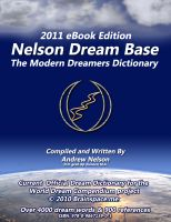 Cover for 'Nelson Dream Base  Modern Dreamers Guide e2011'